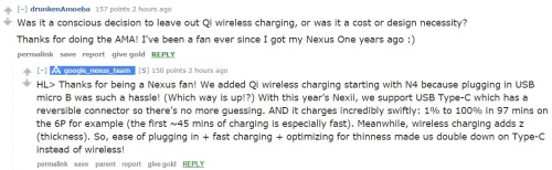 This is why the Nexus 6P and Nexus 5X don't have wireless charging