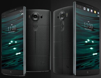 New snaps of the LG V10 showcase the device's body and secondary display