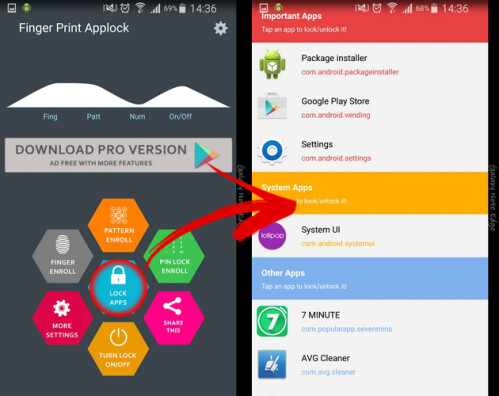 You can have fingerprint security on any Android smartphone