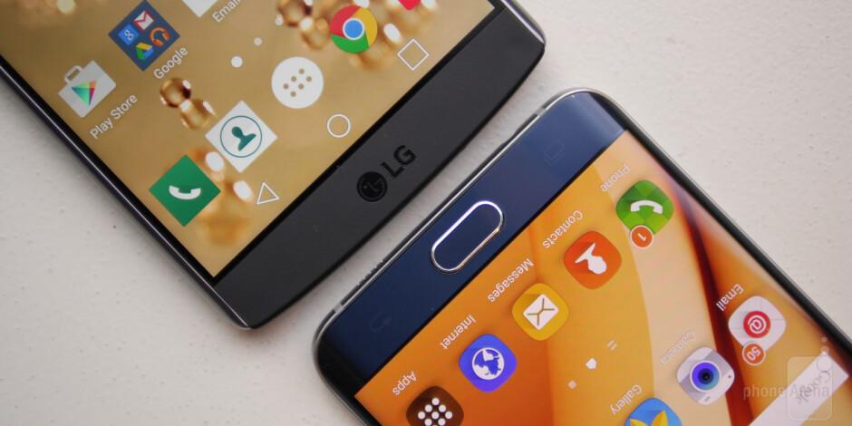 LG V10 vs Samsung Galaxy s6 edge+: first look