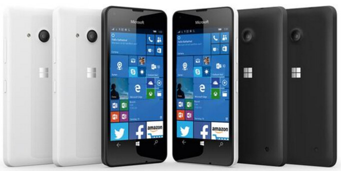 Render of the Lumia 550 is disseminated by Evan Blass - Microsoft Lumia 550 render appears; entry-level model comes with front-facing flash