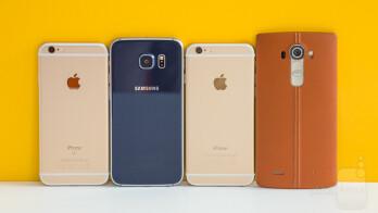 iPhone 6s vs Galaxy S6, LG G4, iPhone 6 blind camera ...