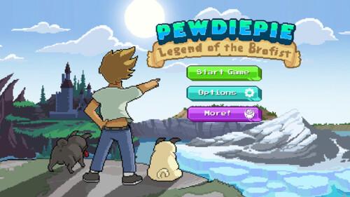 PewDiePie Legend of Brofist