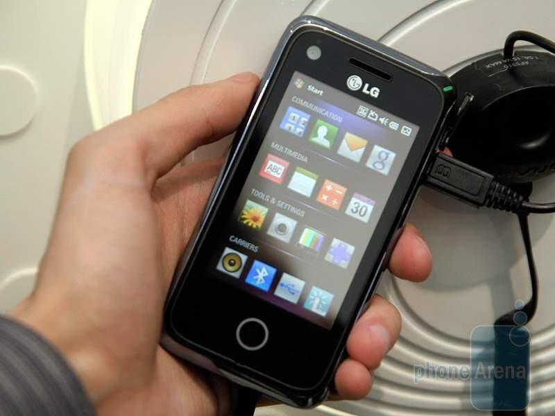 مشخصات گوشی lg سایروس Compare Phone