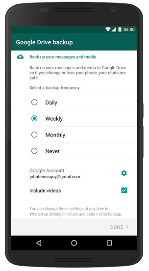how to download whatsapp backup from google drive