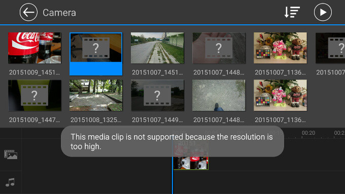 Why are there no 4K video editing apps on Android in 2015?