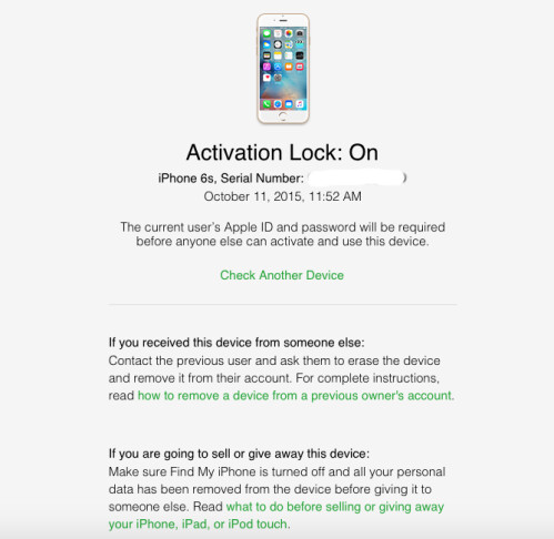 unlocked phone check