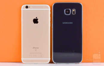 how much are iphone 6s samsung galaxy s6 and iphone 6s dominate our blind 5405