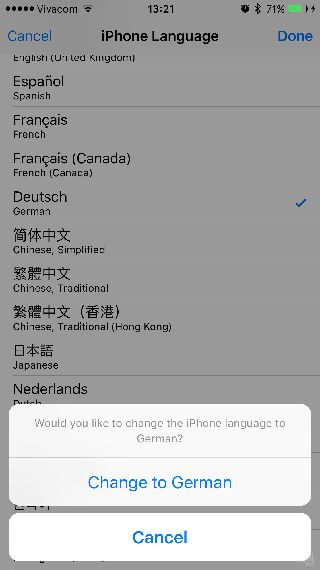 how to change language on iphone how to change the system language of your iphone or 2835