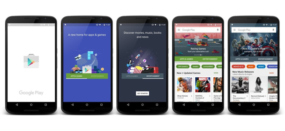 Google Play Store to soon reorganize the main navigation options