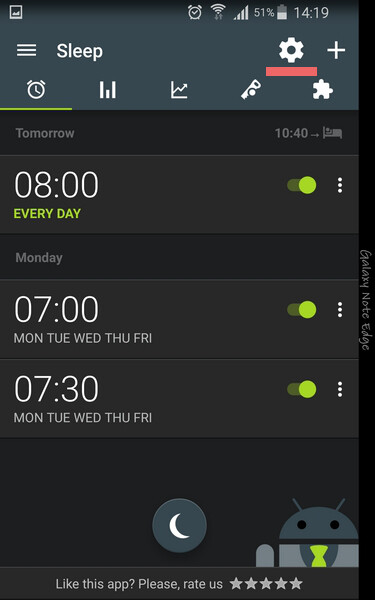 How to link your Sleep as Android data with Google Fit or ...