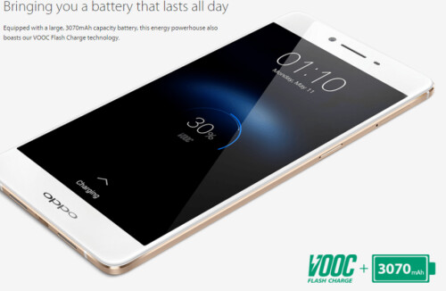 The Oppo R7s phablet is unveiled