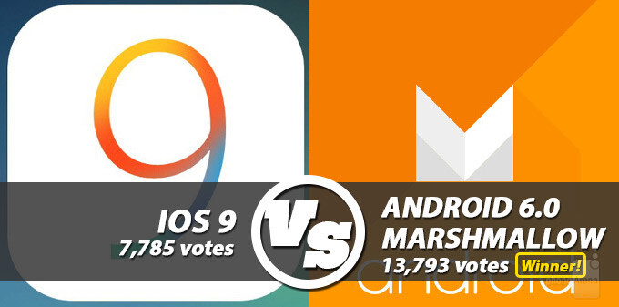 Android 6 Marshmallow vs iOS 9 visual inteface comparison: we have a clear winner!
