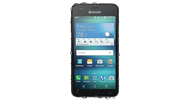 The $100 Kyocera Hydro Air comes with LTE, is water resistant, and can also take a beating