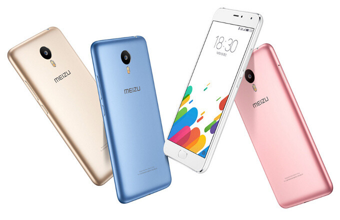 Meizu Blue Charm (m1) Metal unveiled: brings exquisite aluminum design and fingerprint scanner to budget phones