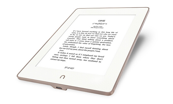 Barnes & Noble's new $130 e-reader is water resistant, has a sharp display and an aluminum back