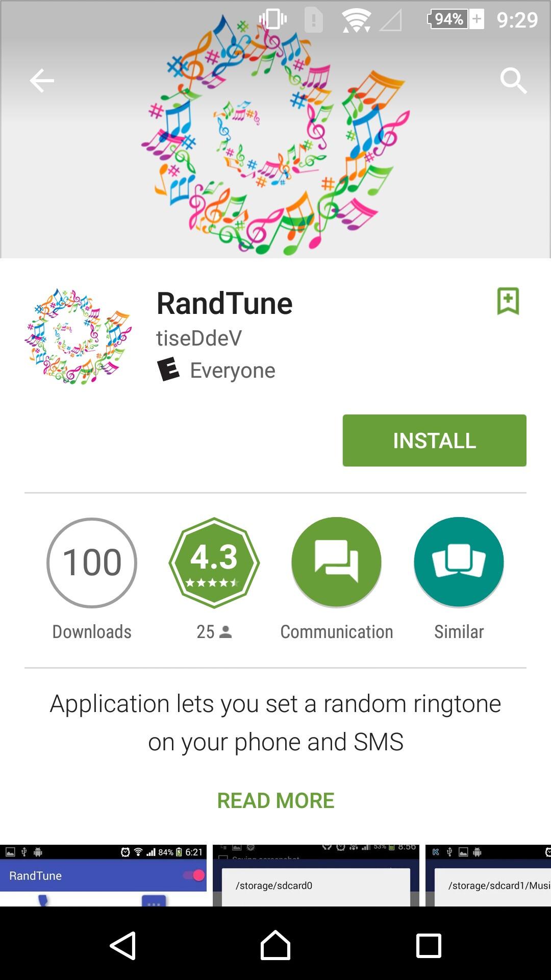 ringtone google sms