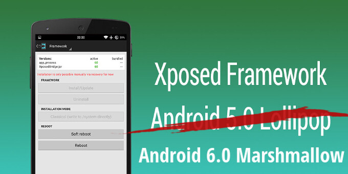"""Xposed framework on Android 6.0 Marshmallow? Developer says he is """"on a good way"""""""