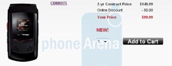 Verizon's new CDM8975 PTT pricing revealed