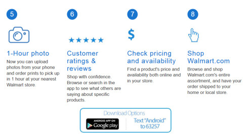 Walmart updates its iOS and Android app in preparation of the 2015 holiday shopping season
