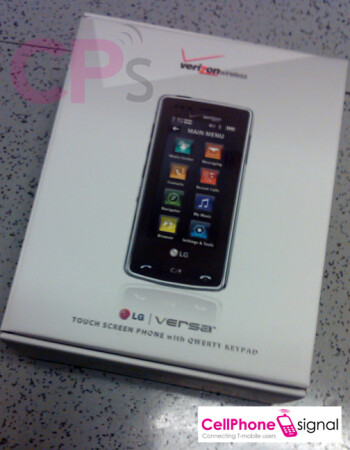 LG's Versa now at a few Verizon stores