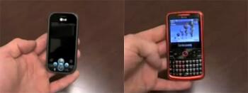 LG GT365 Etna and Samsung Shift