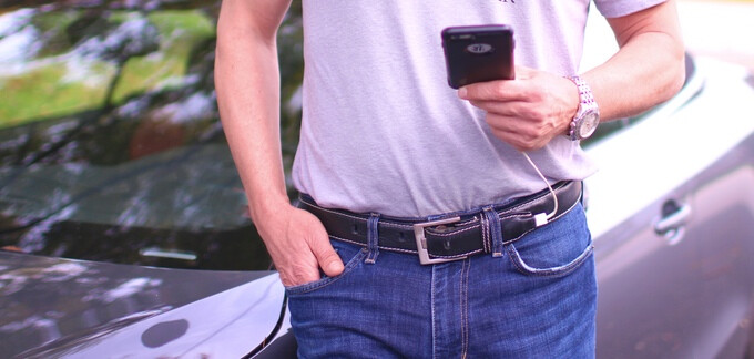 The Ion Belt is a 3000mAh battery pack that you can wear around your waist