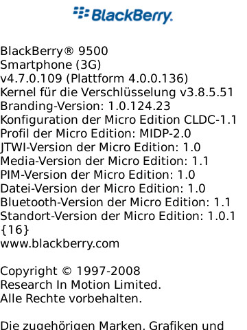 BlackBerry Storm 9500 hits .109 on the OS scale