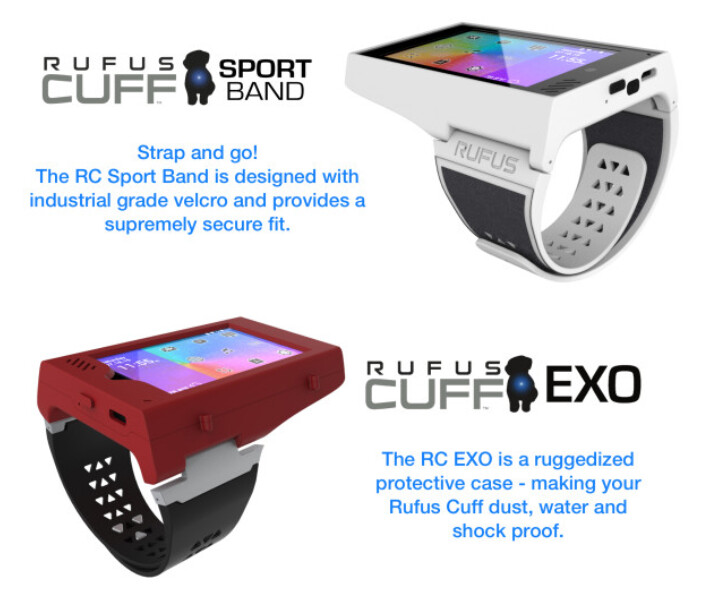 The Rufus Cuff puts a 3.2-inch screen on your wrist