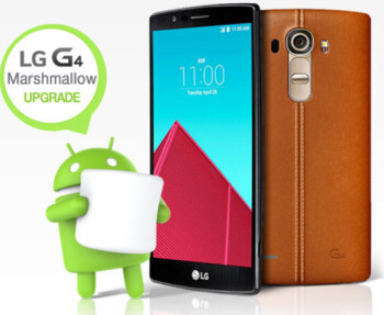The LG G4 is updated to Android 6.0 in South Korea