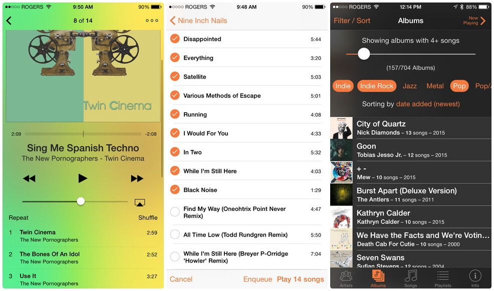 how to change default music app on ios