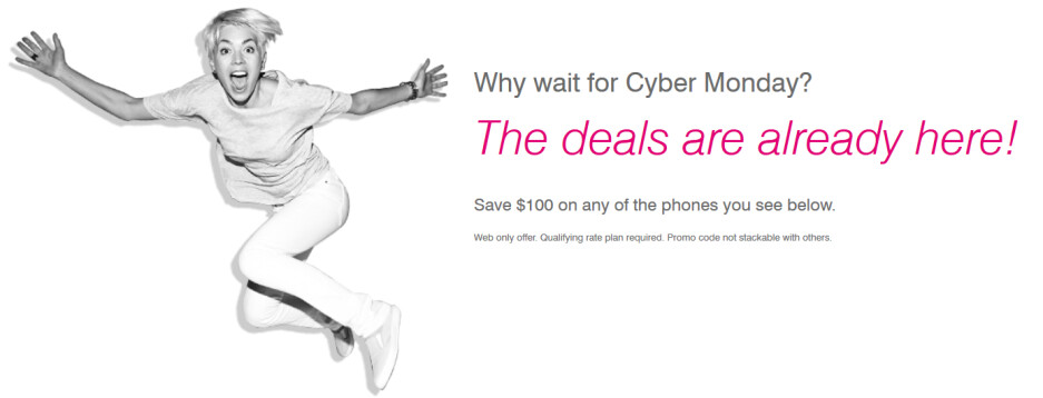 Save $100 on a high-end smartphone with T-Mobile's new promotion - T-Mobile's Super Smartphone Deals take $100 off the price of today's popular phones