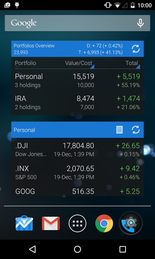 Best stocks monitoring apps and widgets for Android - PhoneArena