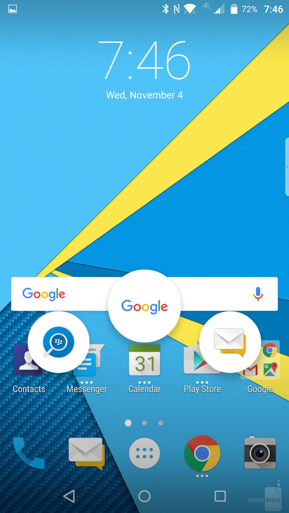 BlackBerry Launcher - How to turn your Android into a BlackBerry Priv: wallpaper, launcher, keyboard, BB Services
