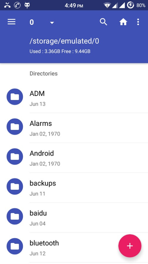 Amaze File Manager images