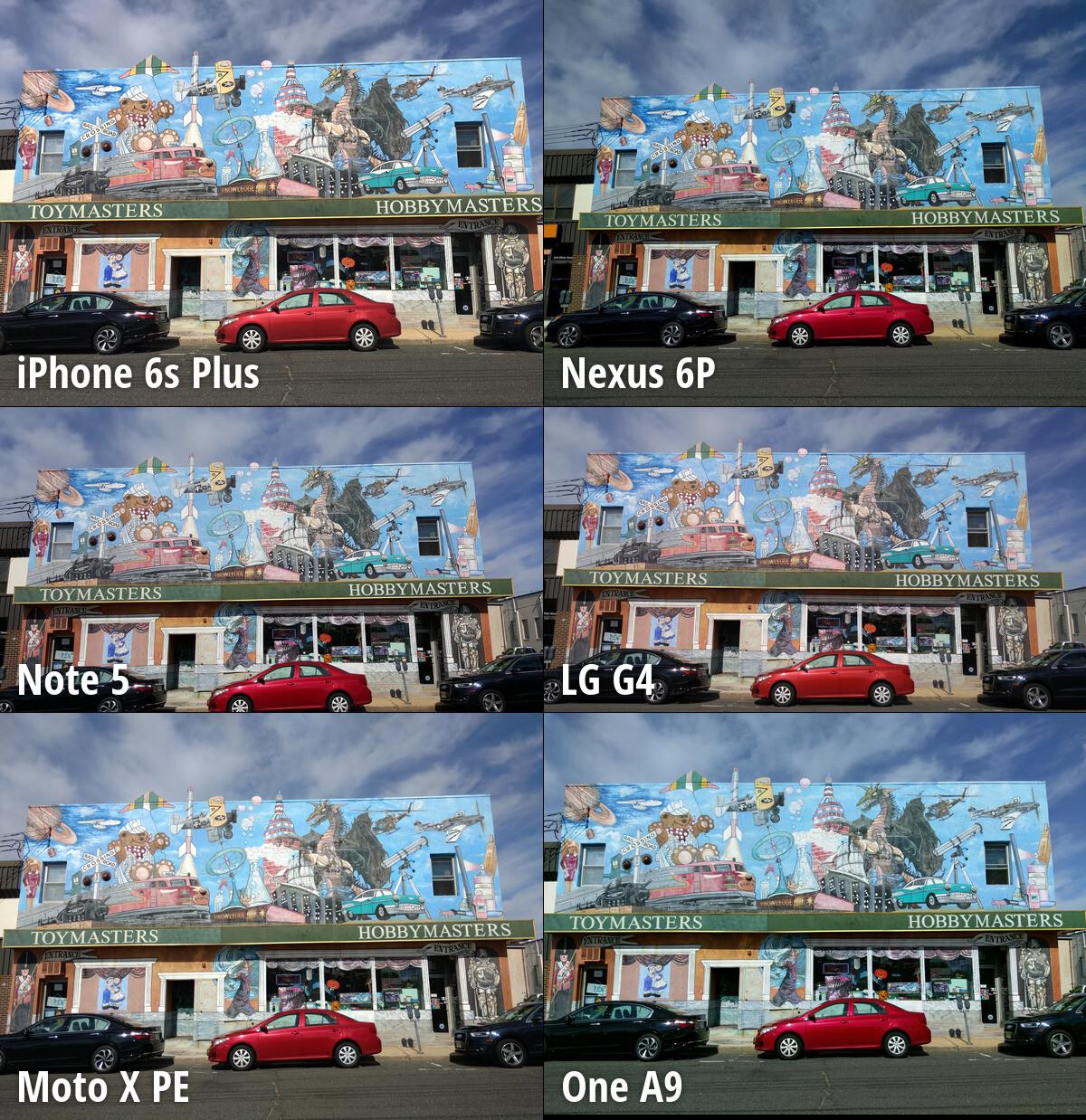 note 5 vs iphone 6s Plus vs xperia z3