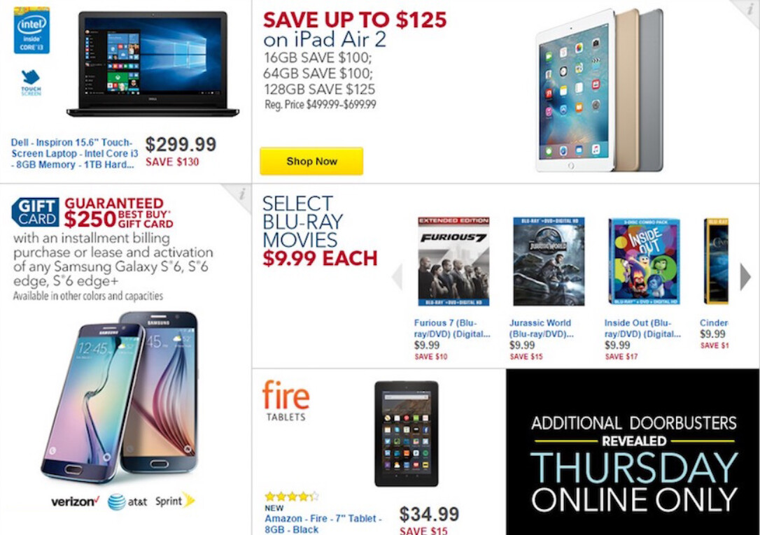 Best Buy Black Friday ad leaks with plenty of deals on mobile devices