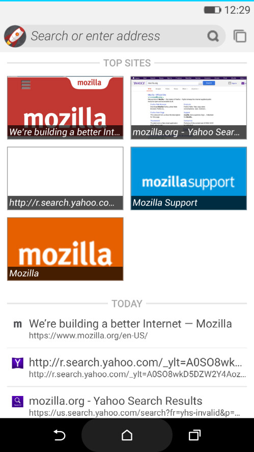 Mozilla's Firefox OS 2.5 can now be previewed on your Android phone