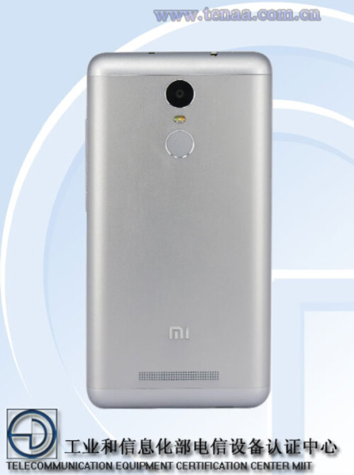 The Xiaomi Redmi Note 2 Pro is certified in China by TENAA