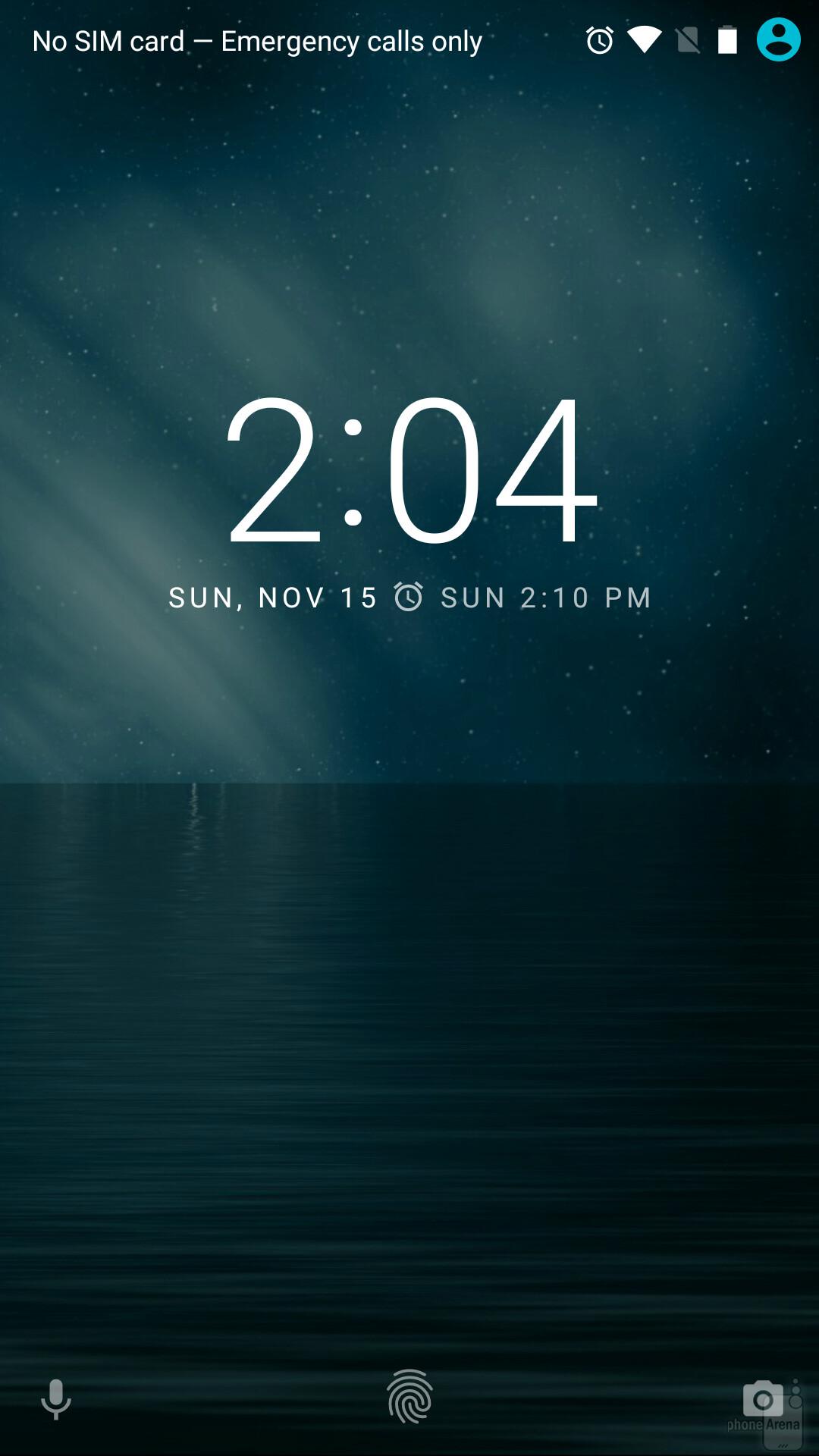 Ogni volta che vedi quel piccolo impronte digitali, è possibile sbloccare il Nexus con il dito (posizionandolo sul sensore sul retro, non sullo schermo).