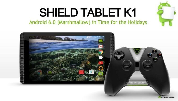 Nvidia is working on Android 6.0 Marshmallow update for the Shield Tablet and Shield Tablet K1