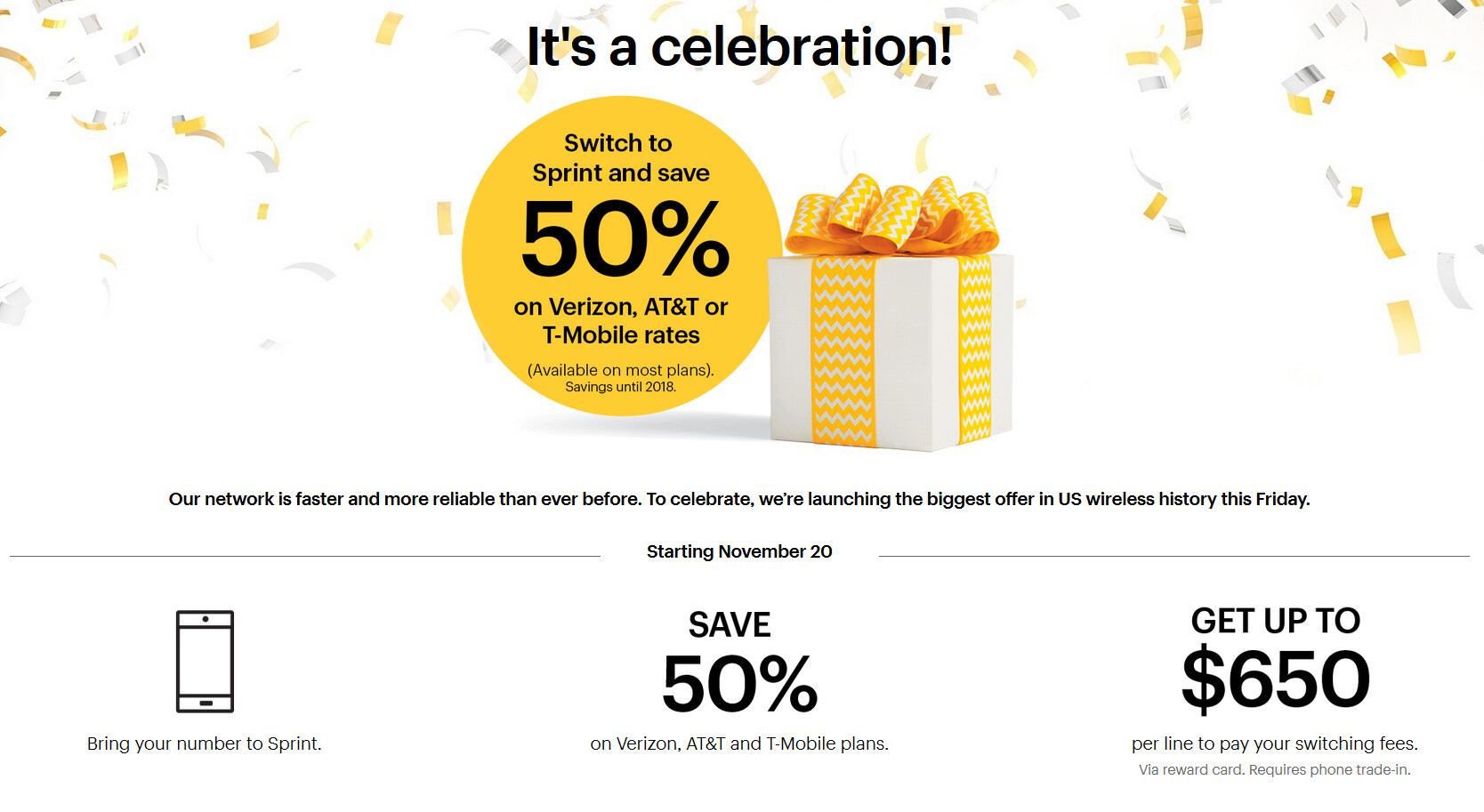 sprint announces which other - photo #22