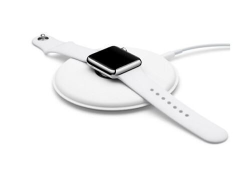 The Apple Watch magnetic charging dock