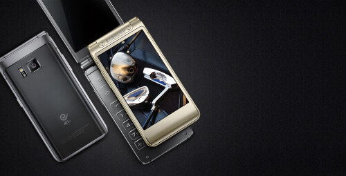 Samsung W2016 clamshell Android