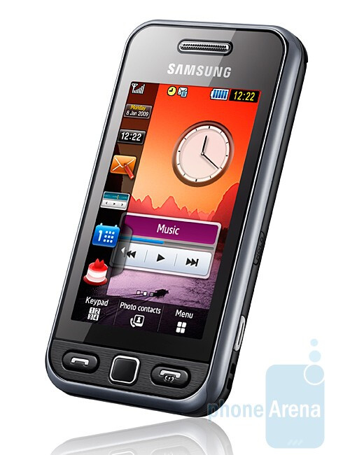 S5230 - Budget touch phones coming from Samsung