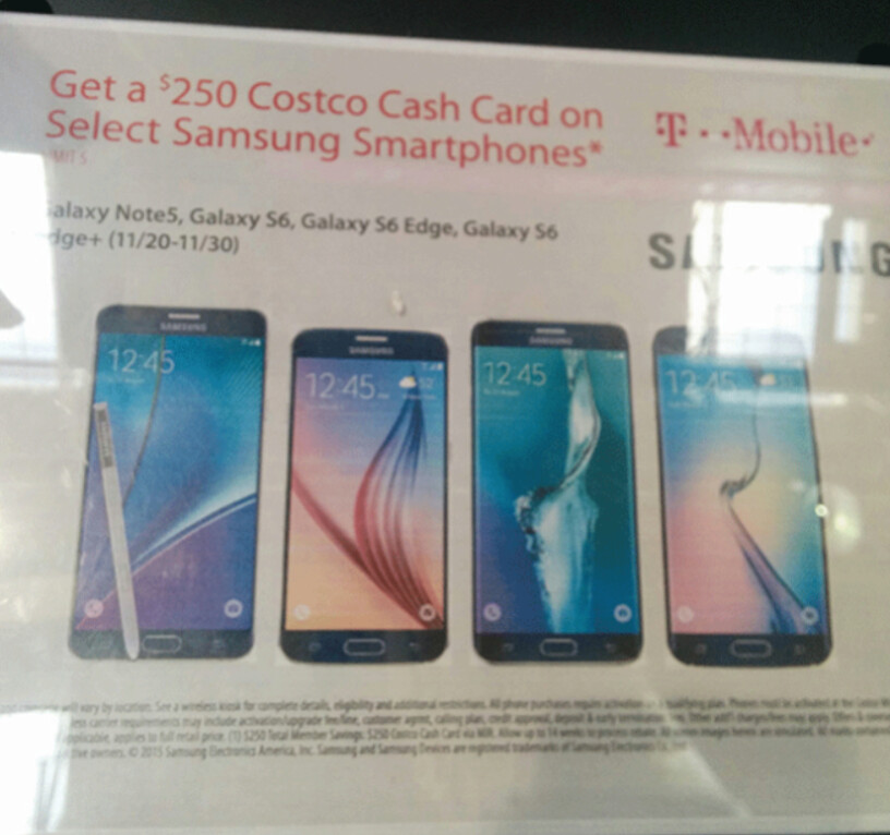 Get a $250 Costco gift card with the purchase of a T-Mobile ...