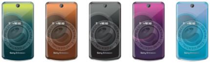 T707 Elle color solutions - Sony Ericsson leaks information about the T707 Elle