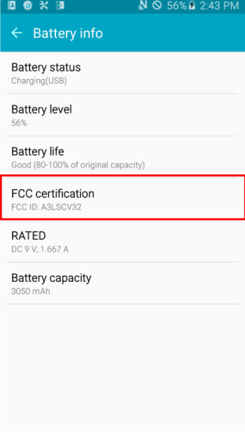 Galaxy A8 (2016) specs and performance test leak: Exynos 7420, 3050 mAh battery