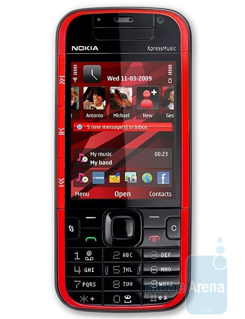 5730 XpressMusic - Nokia officially announces three new music phones