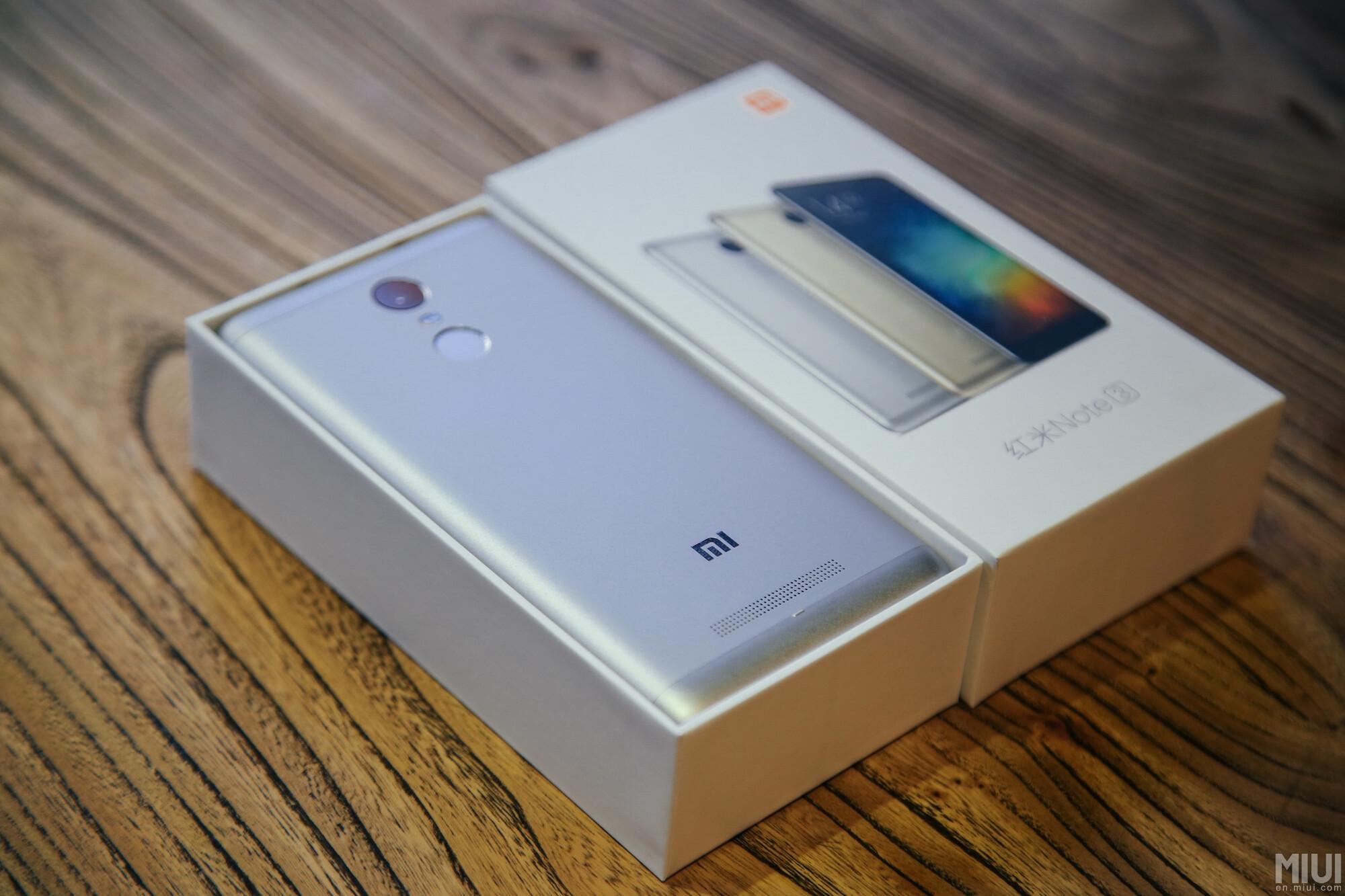 شياومي تكشف النقاب عن هاتفها الذكي الجديد Redmi Note 3 3